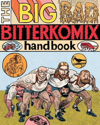Big Bad Bitterkomix Handbook Paperback Edition