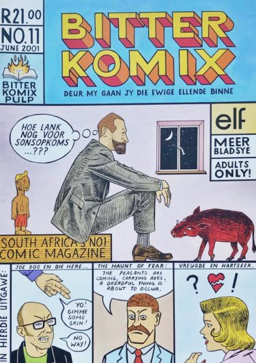 Bitterkomix issue no.11 (front cover)