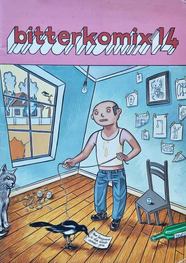 Bitterkomix issue no.14 (front cover)