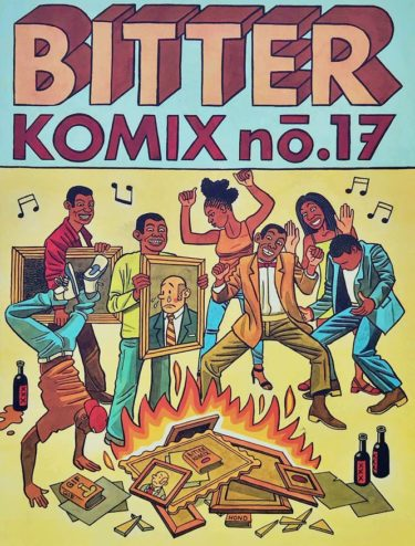 Bitterkomix issue no.17 (front cover)