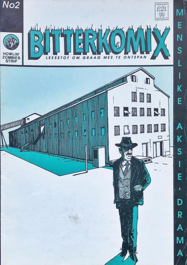 Bitterkomix issue no.2 (front cover)