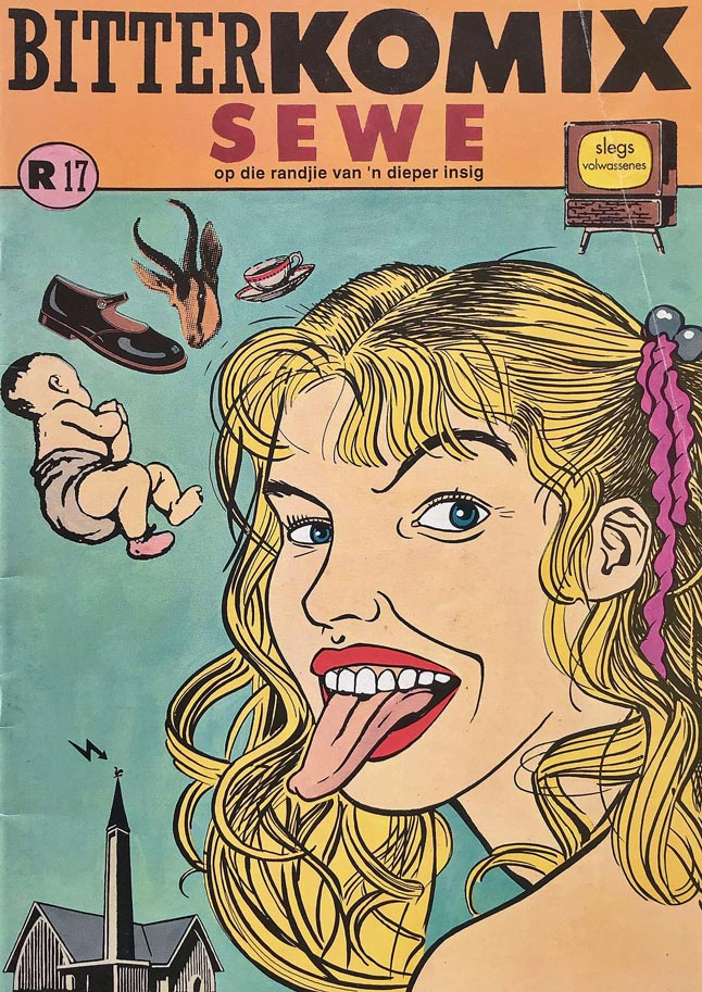 Bitterkomix issue no.7 (front cover)