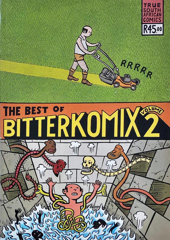 Bitterkomix - Best of Vol.2 (Konradski cover).